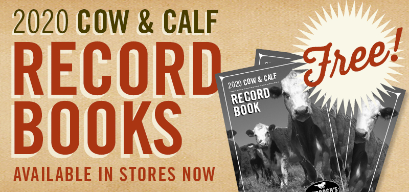 Free 2020 Cow & Calf Record Books Available Now
