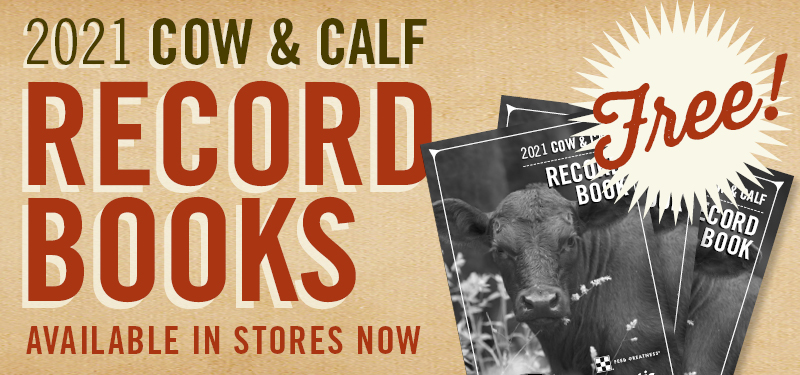 Free 2021 Cow & Calf Record Books Available Now