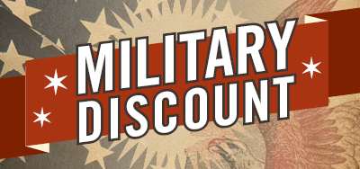 Murdoch's Military Discount Events