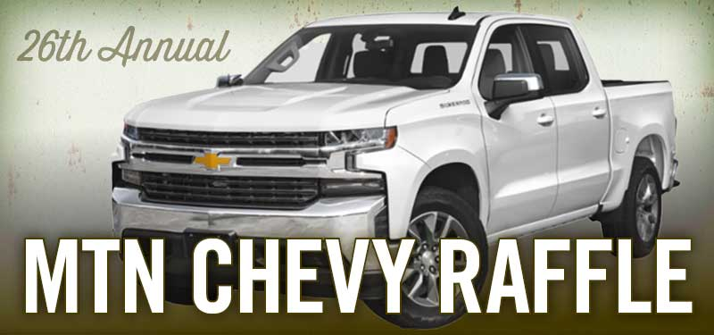 Win a 2019 Chevy Silverado
