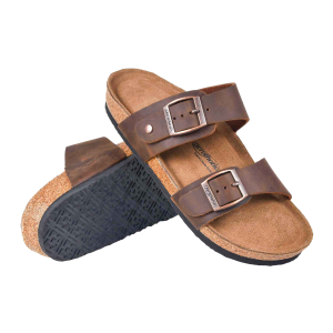 Women's  Vista Dual Strap Leather Sandal