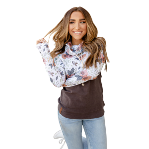 Women's  Wild Thing Cowl Neck Sweatshirt