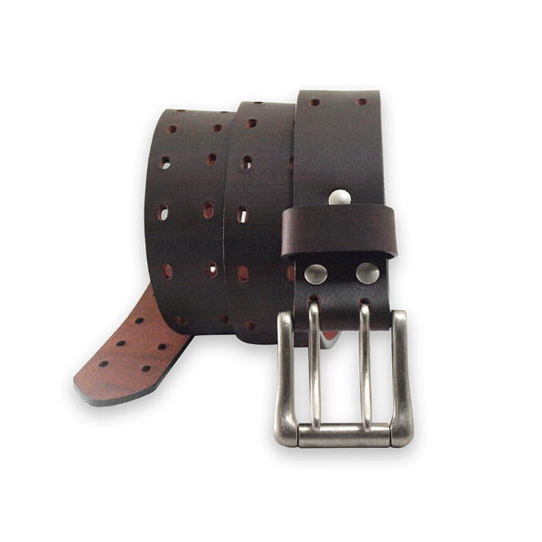 Perforated Leather Belt