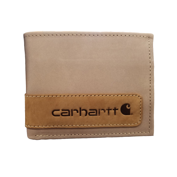 Two-Tone Billfold Wallet