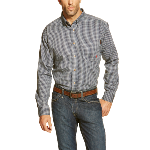 Men's  FR Work Shirt - Blue