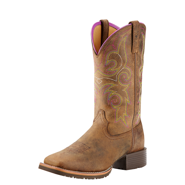 dd2cce8cd5d Ariat - Women's Distressed Brown Hybrid Rancher Boot - Murdoch's