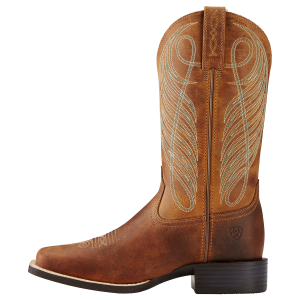 Women's  Round Up Wide Square Toe Boot