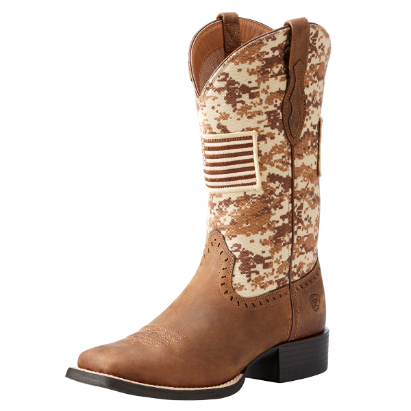 Round Up Patriot Western Boot