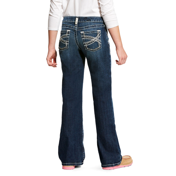 Girls' R.E.A.L. Boot Cut Entwined Jean