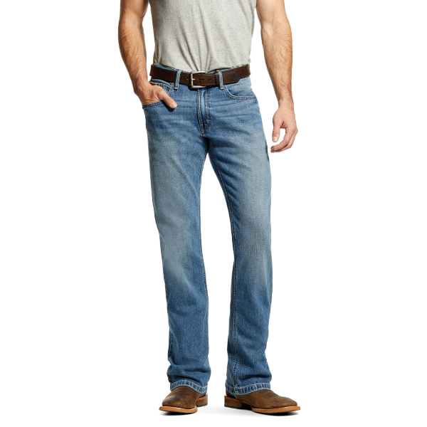 M4 Low Rise Stackable Straight Leg Jean