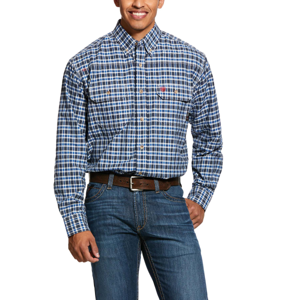 FR Plaid Featherlight Work Shirt