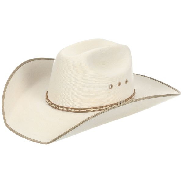 Hereford Low Crown 15X Tan Bound Edge Hat