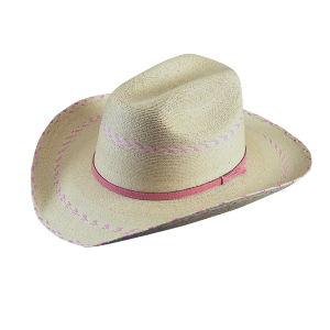 Kids'  Pink Pinto Palm Hat