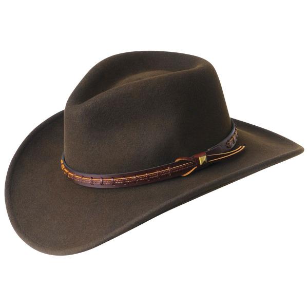 9917a443f Bailey Hats Men's Firehole Wool Western Hat
