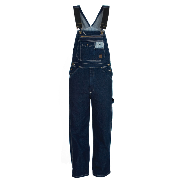 Washed Unlined Denim Bob Overall