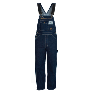 Men's  Washed Unlined Denim Bib Overall