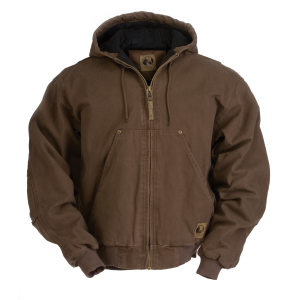 Men's  Original Washed Hooded Jackets- Quilt Lined