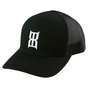 Men's  BLACK STEEL Cap