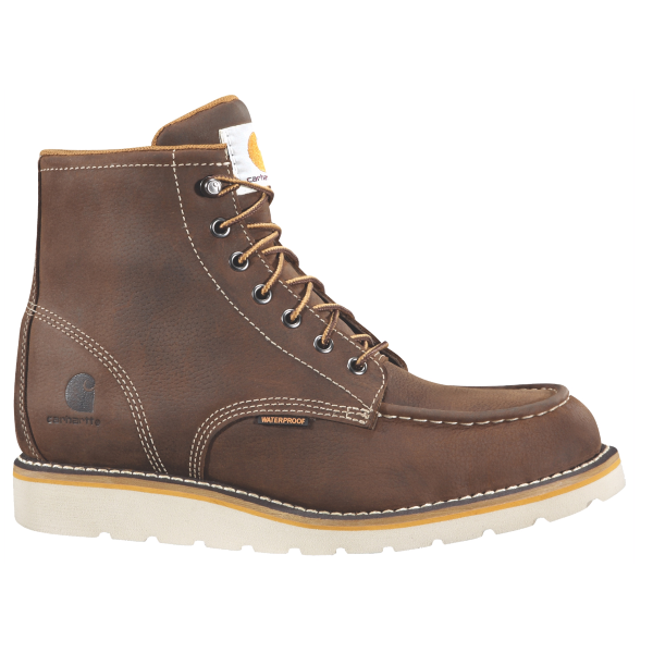 "6"" Brown Wedge Boot"