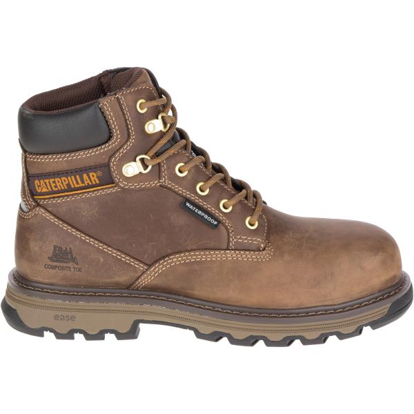 Caterpillar Superstat Waterproof Nano Toe Work Boot(Women's) -Black Leather 2018 Cheap Online Xu0EevZ1hB