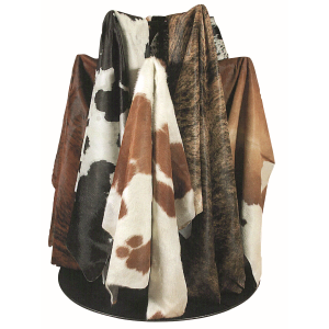 Genuine Steer Hide - Assorted