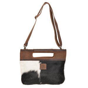 Cowhide Flat Rock Clutch