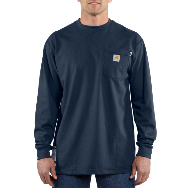 Flame-Resistant Force™ Cotton Long-Sleeve T-Shirt