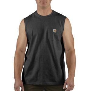 Men's  Workwear Pocket Sleeveless T-Shirt