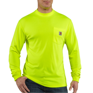 Men's  High-Visibility Color Enhanced Long Sleeve Tee