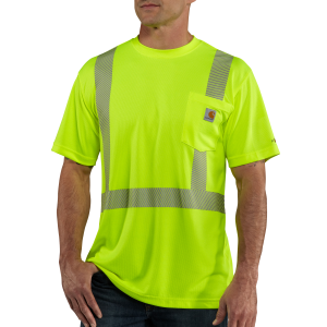 Men's  High-Visibility Force High Visibility Short Sleeve Class 2 Tee
