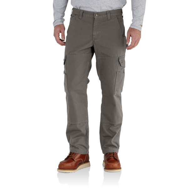 Ripstop Cargo Work Pant/Flannel-Lined