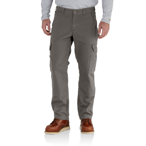Men's  Ripstop Cargo Work Pant/Flannel-Lined
