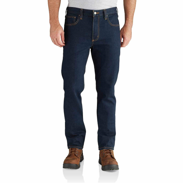 Rugged Flex Straight Fit Tapered Leg Jean