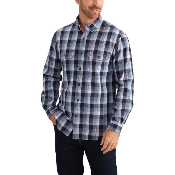 Fort Plaid Long-Sleeve Shirt
