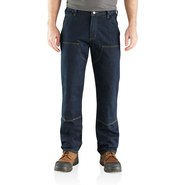 Rugged Flex Relaxed Double Front Jean