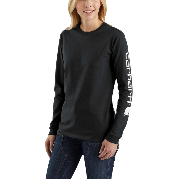 WK231 Workwear Long-Sleeve Logo Tee