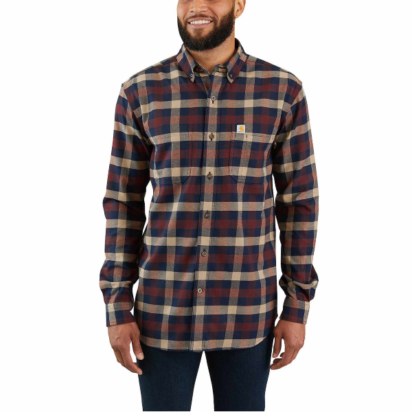 Rugged Flex Hamilton Plaid Shirt