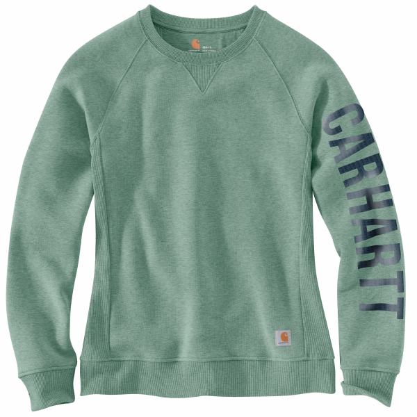 Relaxed Fit Midweight Crewneck Carhartt Graphic Sweatshirt