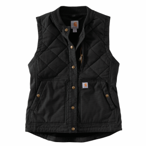 Women's  Rugged Flex Canvas Insulated Rib Collar Vest