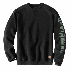 Men's  Original Fit Midweight Crewneck Logo Graphic Sweatshirt