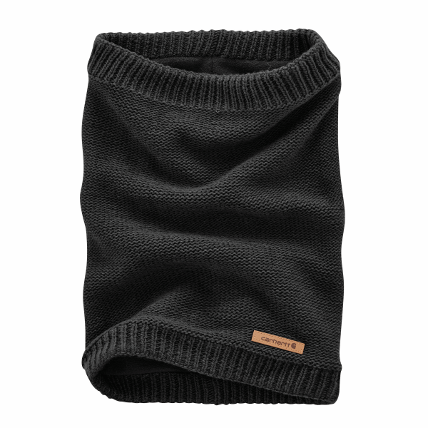 Knit Fleece-Lined Gaiter