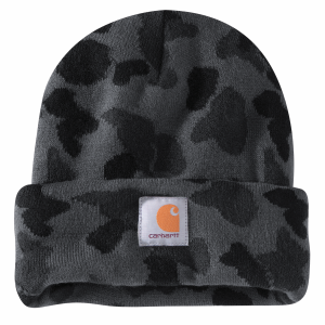 Men's  Knit Camo Beanie