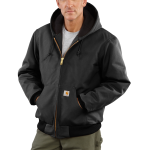 Men's  Quilted Flannel Lined Duck Active Jac