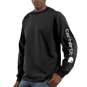 Men's  Long-Sleeve Graphic Logo T-Shirt