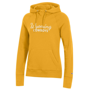Women's  University of Wyoming Cowboys Cursive Hoodie