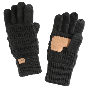 Women's  Ribbed Knit Glove