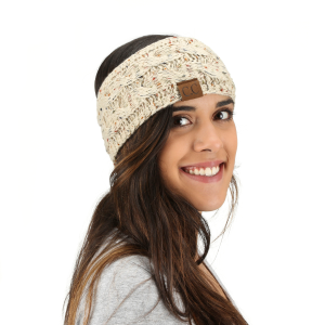 Women's  Cable Knit Headband
