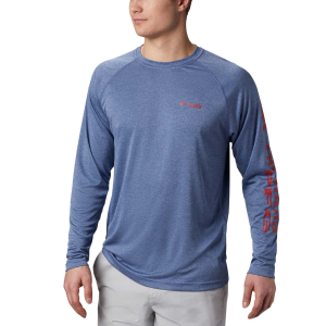 Men's  PFG Terminal Tackle Heather Long Sleeve Shirt