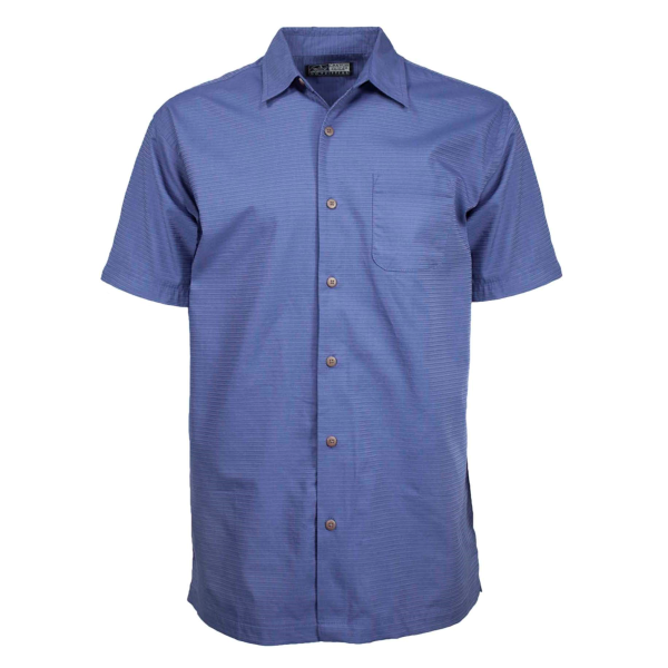 Aiden Textured Short Sleeve Button Down Shirt