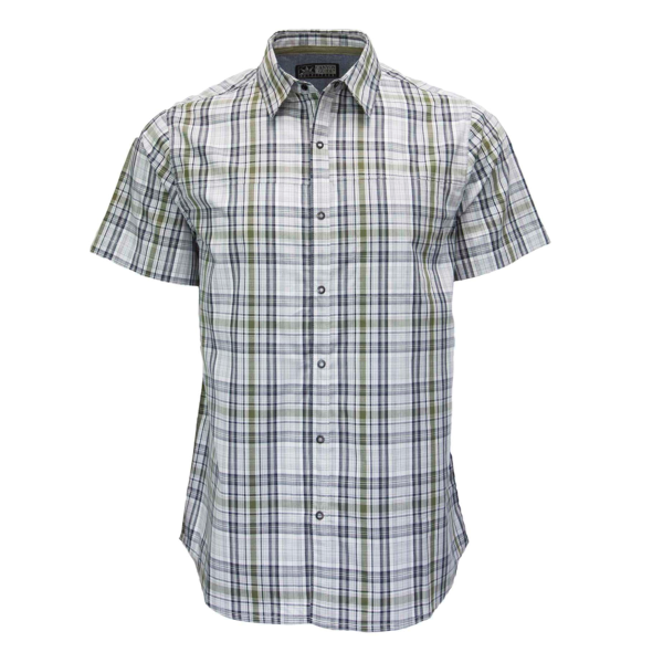 Silas Plaid Short Sleeve Snap Shirt